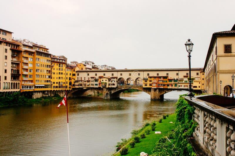 florence Italy ponte vecchio zdjęcia stock