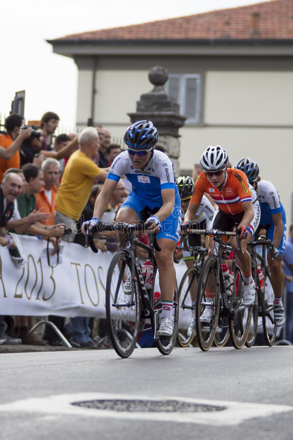 FLORENCE, ITALY - SEPTEMBER 28: Vos Marianne, winner of the Uci Road World Championships (ROAD RACE ELITE WOMEN)
