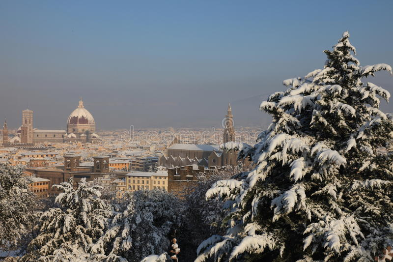 Florence Italy In Winter Stock Photo Image Of Landscape - Italy in the winter