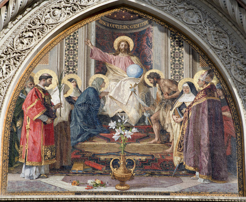 Download Florence - Jesus Christ  Detail From Protal Stock Photo - Image of facade, faith: 13742786