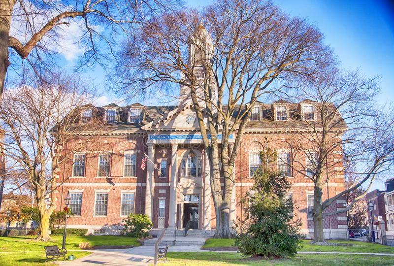 The florence K Murray judical complex newport Rhode island royalty free stock images