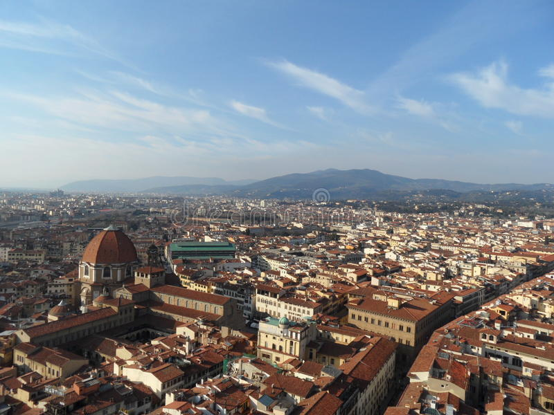 Florence landscape royalty free stock photos