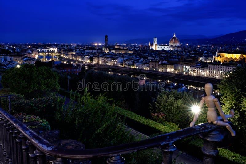 Florence Landscapes L fotografia stock