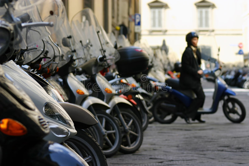 Download Florence Mopeds II Royalty Free Stock Photography - Image: 210187