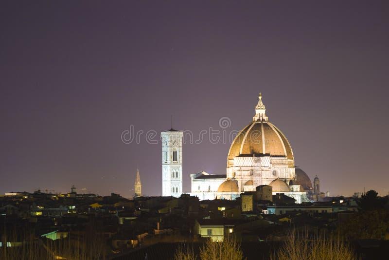 Florence at night royalty free stock image