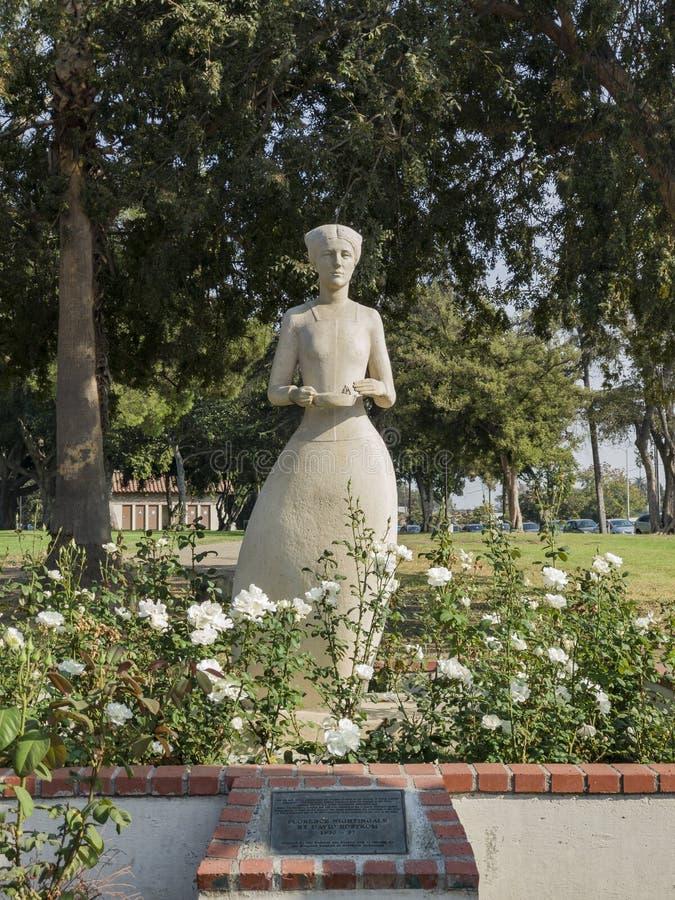 Florence Nightingale雕象 库存照片