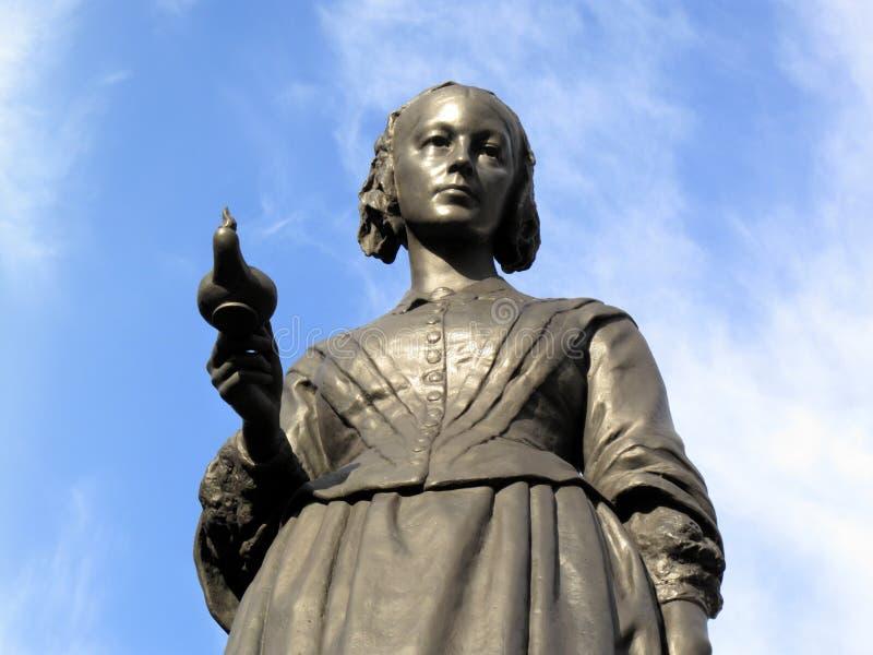 Florence Nightingale雕象 库存图片