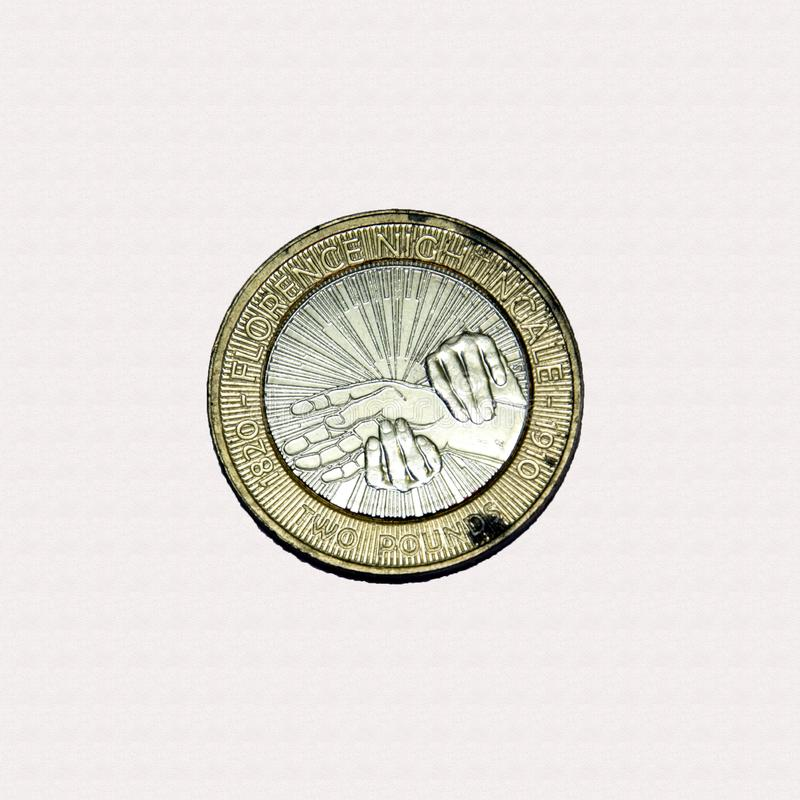 Free Florence Nightingale £2 Coin Stock Photos - 138352753