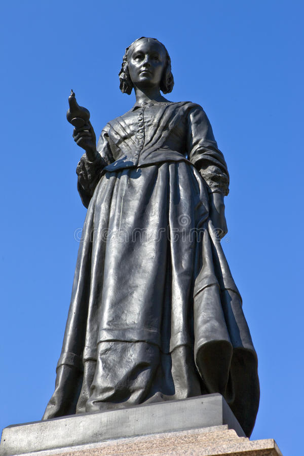 Free Florence Nightingale Statue In London Stock Photos - 38725163
