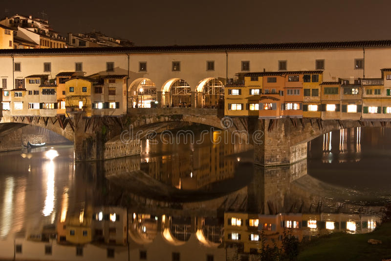 Florence Old Bridge royalty free stock photo