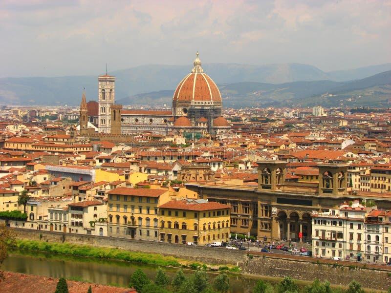 florence panorama Italy Tuscany obrazy stock