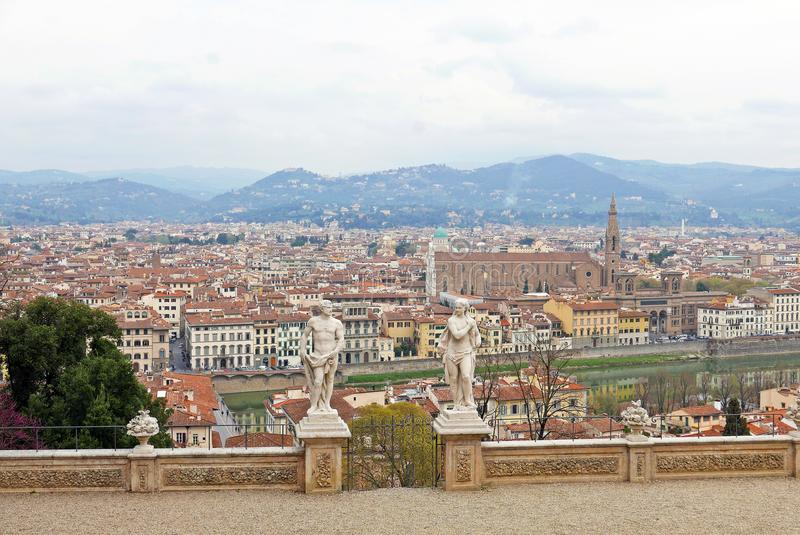 Florence panoramic royalty free stock images