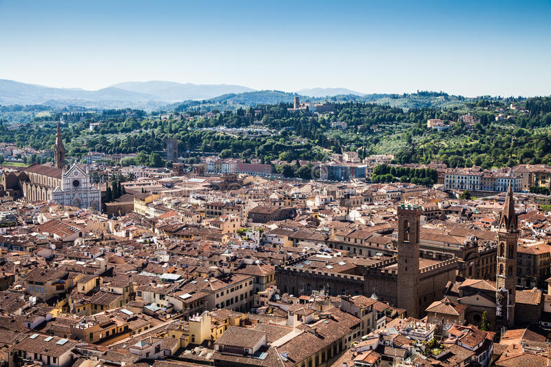 Download Florence panoramic view stock photo. Image of italy, cathedral - 39506834