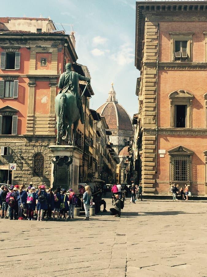 Florence Piazza fotografia stock libera da diritti