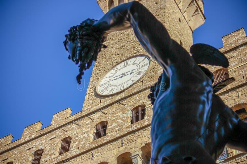 Florence Piazza - Firenze - l'Italia fotografie stock