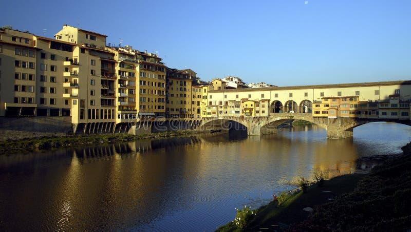 Florence - Ponte Vecchio images libres de droits
