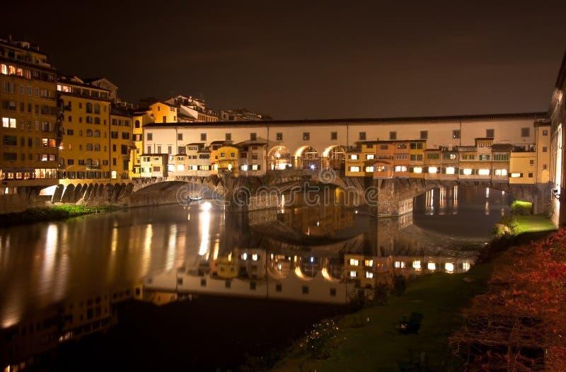 Florence Ponte Vecchio Panorama royalty free stock photography