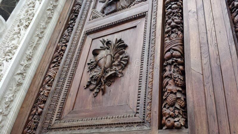 Florence Portal royaltyfria bilder