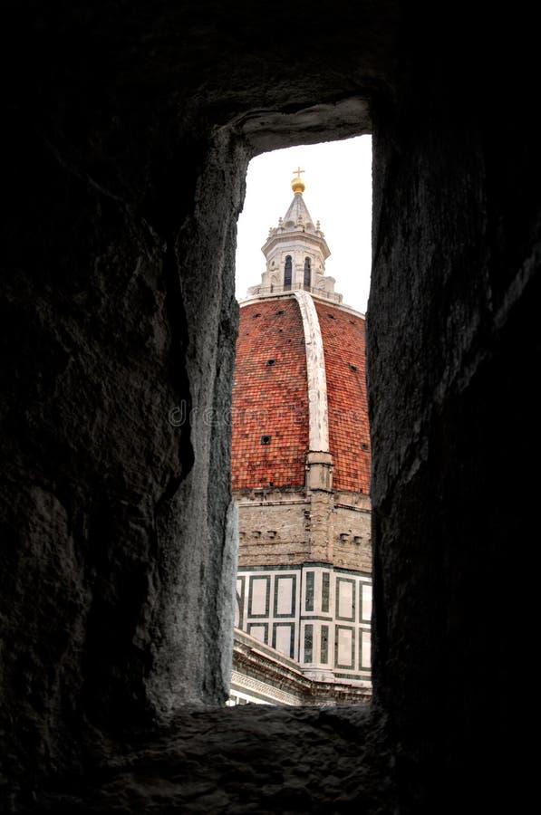 Florence: Santa Maria del Fiore Dome HDR stock foto's