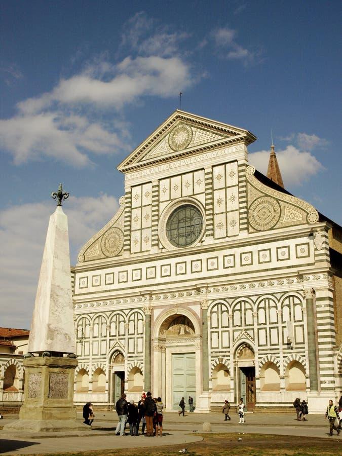 Florence santa maria novella church royalty free stock photography