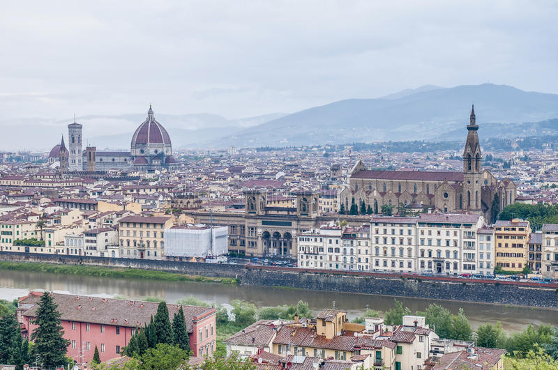 Download Florence Seen From Piazzale Michelangelo, Italy Stock Photo - Image: 26465042