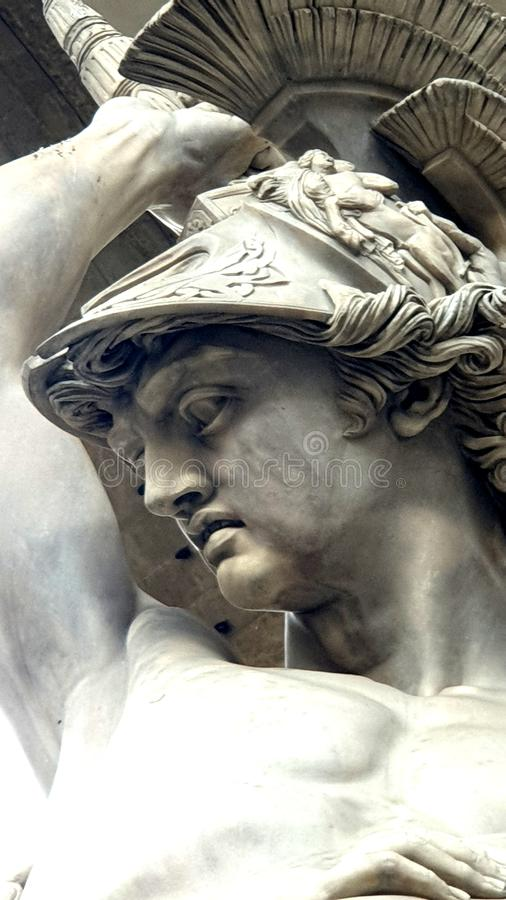 Florence Signoria Square arkivbild