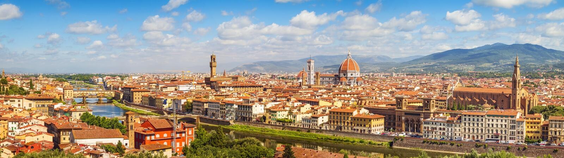 Florence Skyline (Italy, Tuscany) royalty free stock photography
