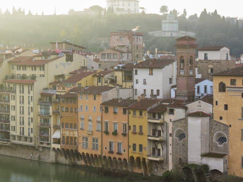 Florence stadsmitt arkivbild