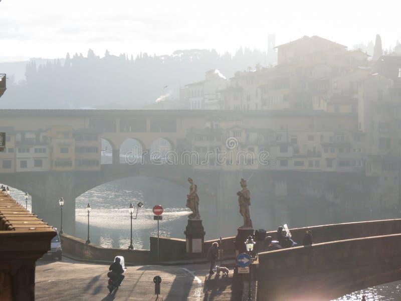 Florence stadsmitt arkivfoton