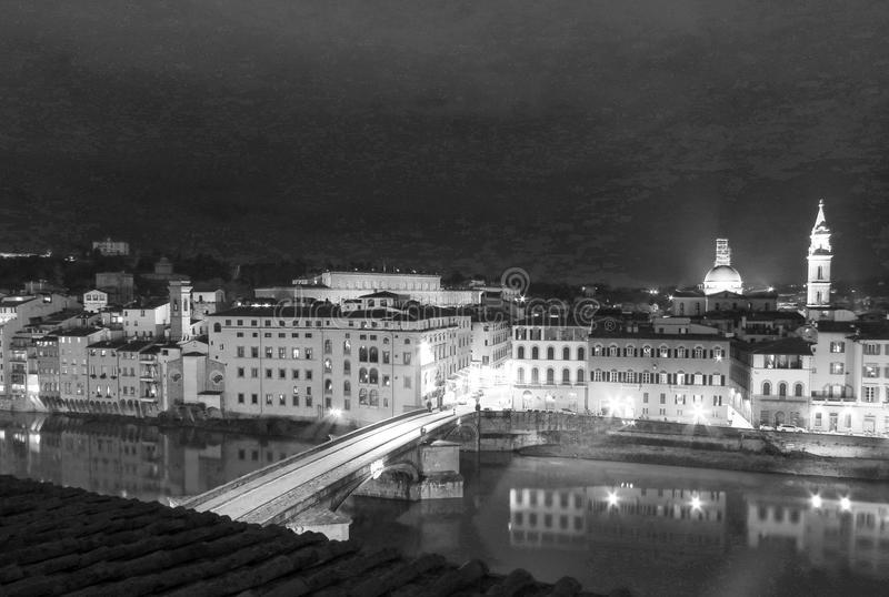 Florence stadsmitt royaltyfri foto