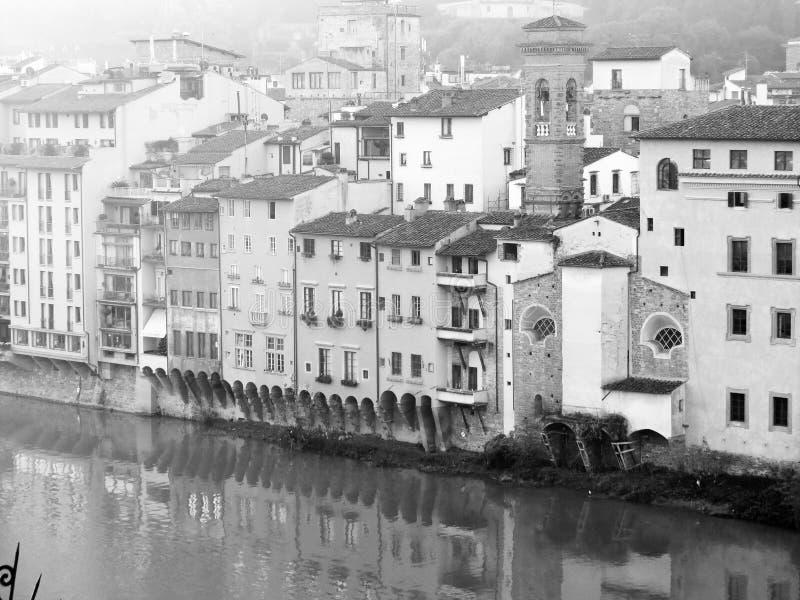 Florence stadsmitt royaltyfria bilder