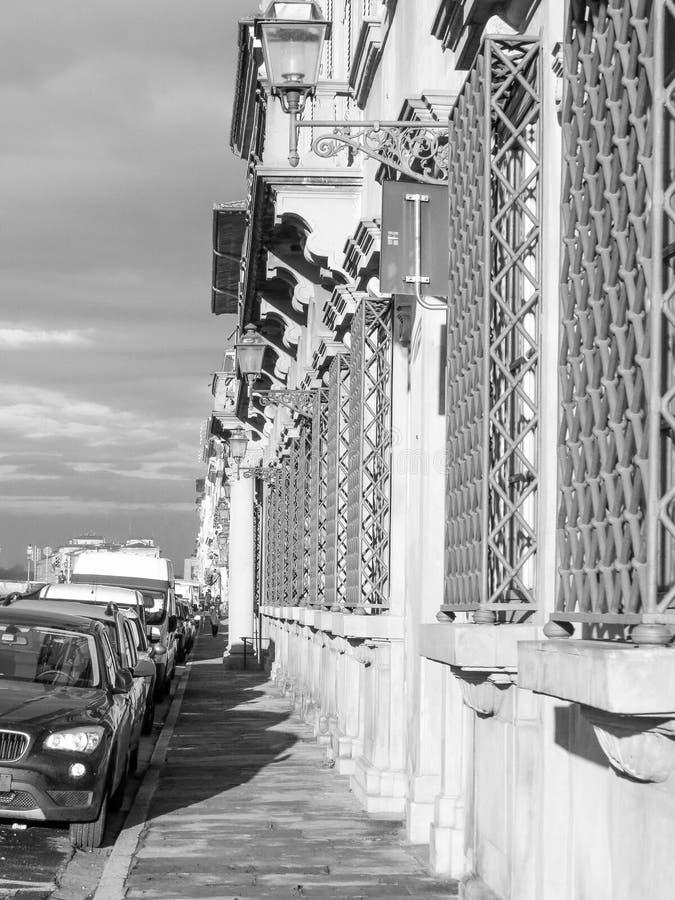 Florence stadsmitt arkivfoto