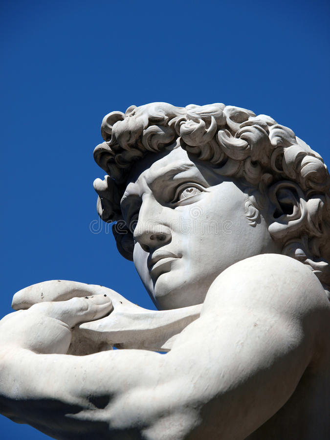 Download Florence - The Statue Of David By Michelangelo Stock Image - Image of palazzio, male: 15773905
