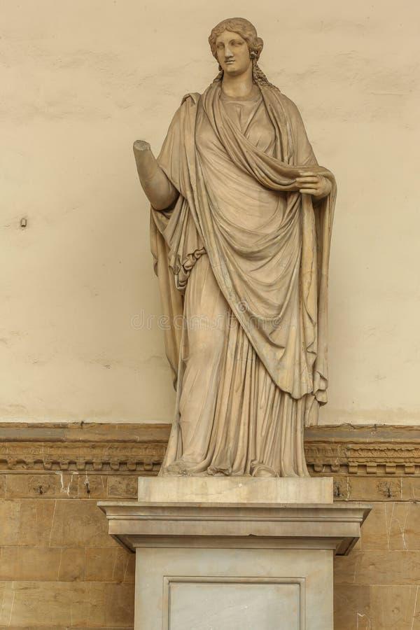 Florence statyer arkivfoton