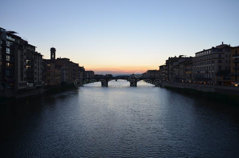Florence Sunset imagen de archivo