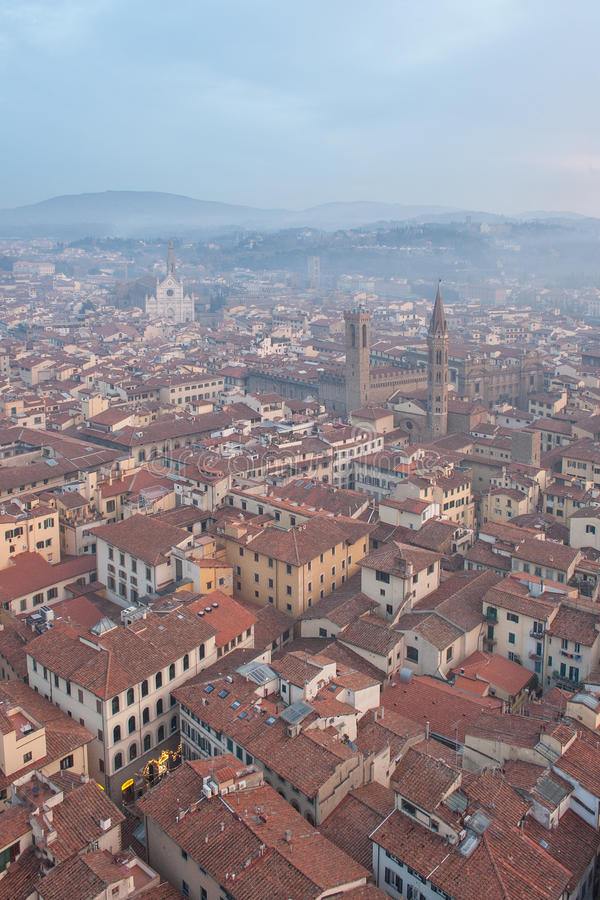 Florence Tuscany (Italien) arkivfoto