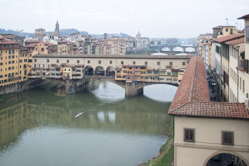Florence Tuscany (Italien) arkivfoton