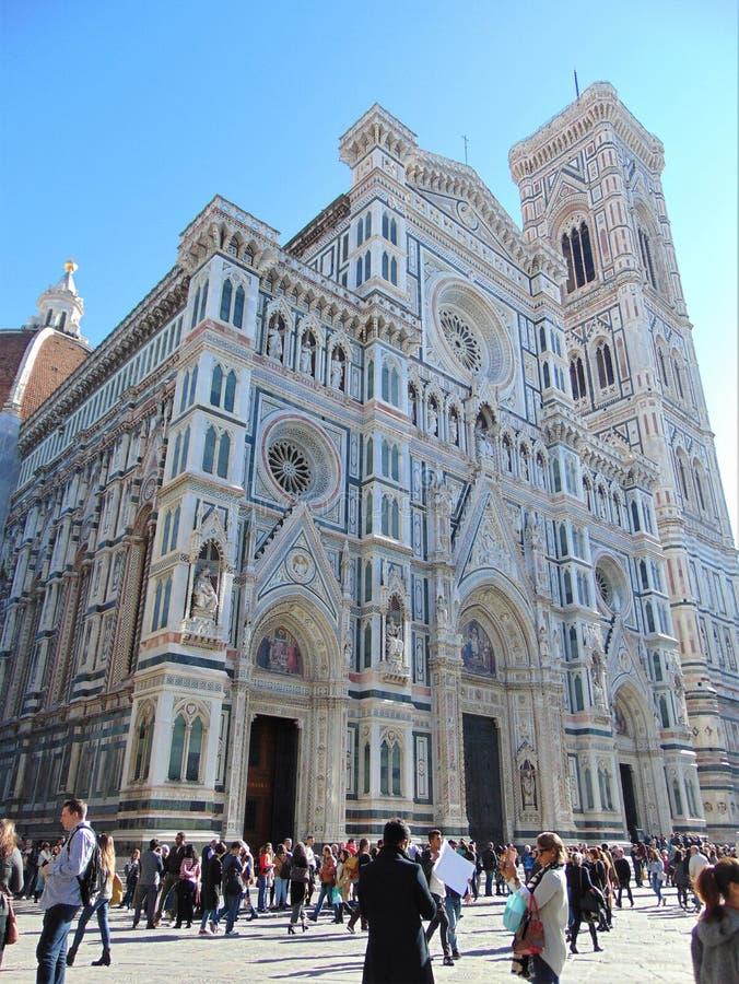 Florence Tuscany Italy, cattedrale del duomo, Cattedrale Santa Maria del Fiore fotografia stock