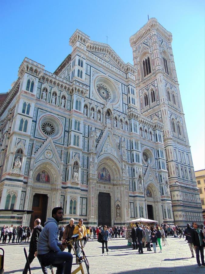 Florence Tuscany Italy, Florence Duomo Cathedral Cattedrale Santa Maria del Fiore, cattedrale di St Mary dei fiori immagini stock libere da diritti