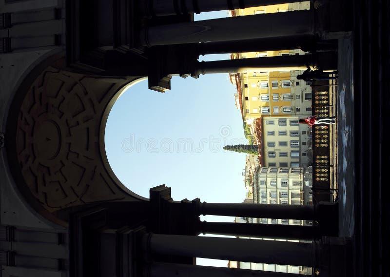 Download Florence - Uffizi arch stock image. Image of tourist, arno - 1405929