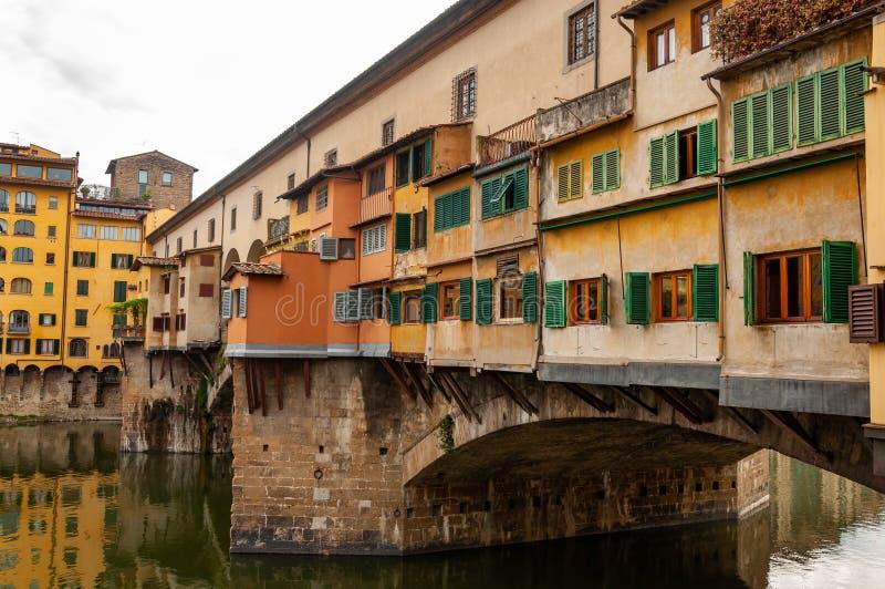 Florence, Unesco-Erfenis en huis aan de Italiaanse Renaissance, volledig van beroemde monumenten en kunstwerken over de hele were stock foto