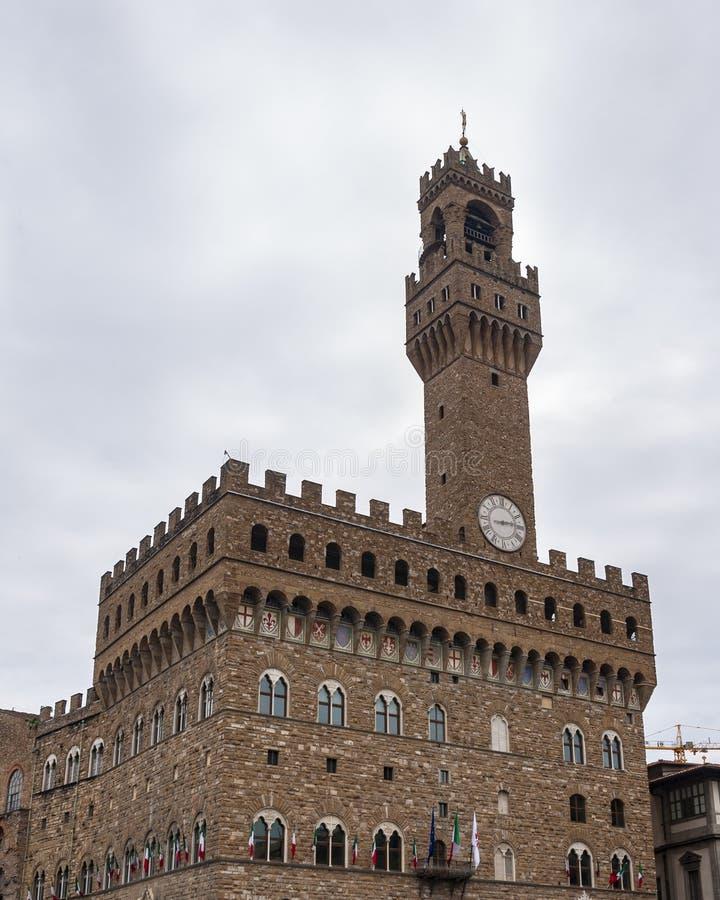 Florence, Unesco-Erfenis en huis aan de Italiaanse Renaissance, volledig van beroemde monumenten en kunstwerken over de hele were royalty-vrije stock foto's