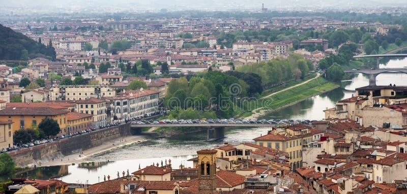 Florence, Unesco-Erfenis en huis aan de Italiaanse Renaissance, volledig van beroemde monumenten en kunstwerken over de hele were royalty-vrije stock fotografie