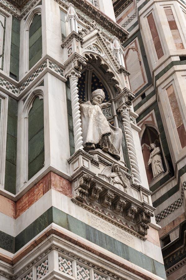 Florence, Unesco-Erfenis en huis aan de Italiaanse Renaissance, volledig van beroemde monumenten en kunstwerken over de hele were royalty-vrije stock afbeelding
