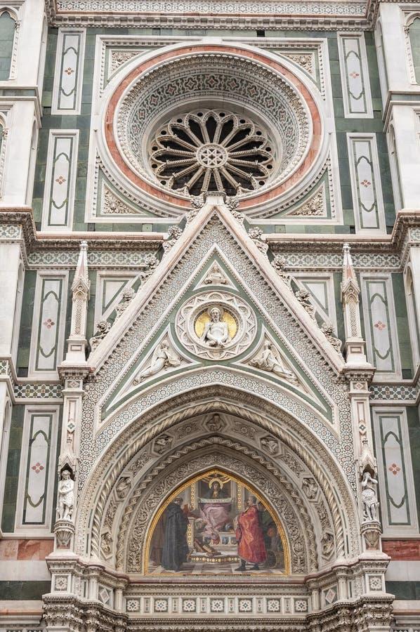 Florence, Unesco-Erfenis en huis aan de Italiaanse Renaissance, volledig van beroemde monumenten en kunstwerken over de hele were stock fotografie