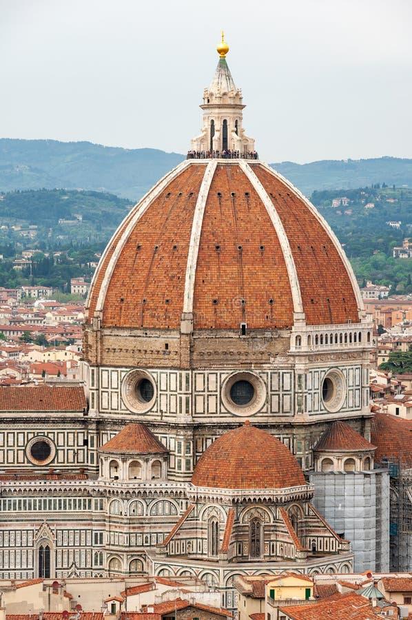 Florence, UNESCOarv och hem till den italienska ren?ssans som, ?r full av ber?mda monument och konstverk ?ver hela v?rlden royaltyfria bilder