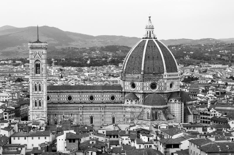 Florence, UNESCOarv och hem till den italienska ren?ssans som, ?r full av ber?mda monument och konstverk ?ver hela v?rlden arkivfoton