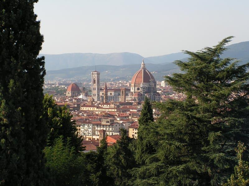 Florence van Panoarama royalty-vrije stock foto's