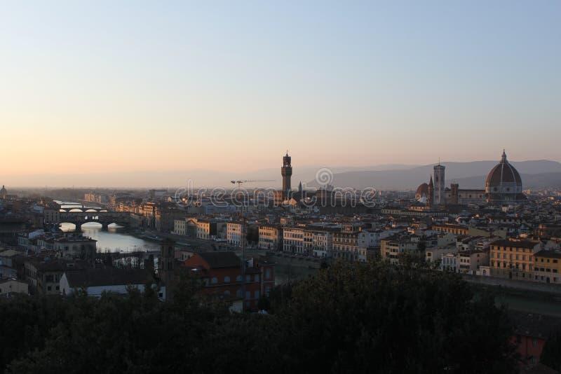 Download Florence View Piazzale Michaël Angelo - D'Italie Photo stock - Image du construction, étourdissement: 76081856