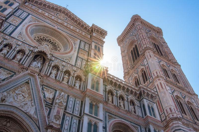 florence W?ochy Florencja Duomo Katedralny Cattedrale Santa Maria Del Fiore, katedra Świątobliwy Mary kwiaty zdjęcie stock
